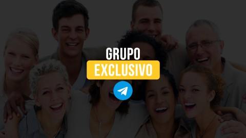 Grupo exclusivo no WhatsApp