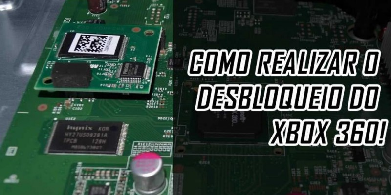 Tutorial desbloqueio do xbox 360